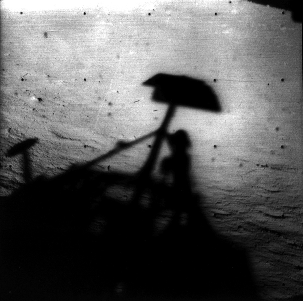 Space Images | Surveyor 1 Shadow
