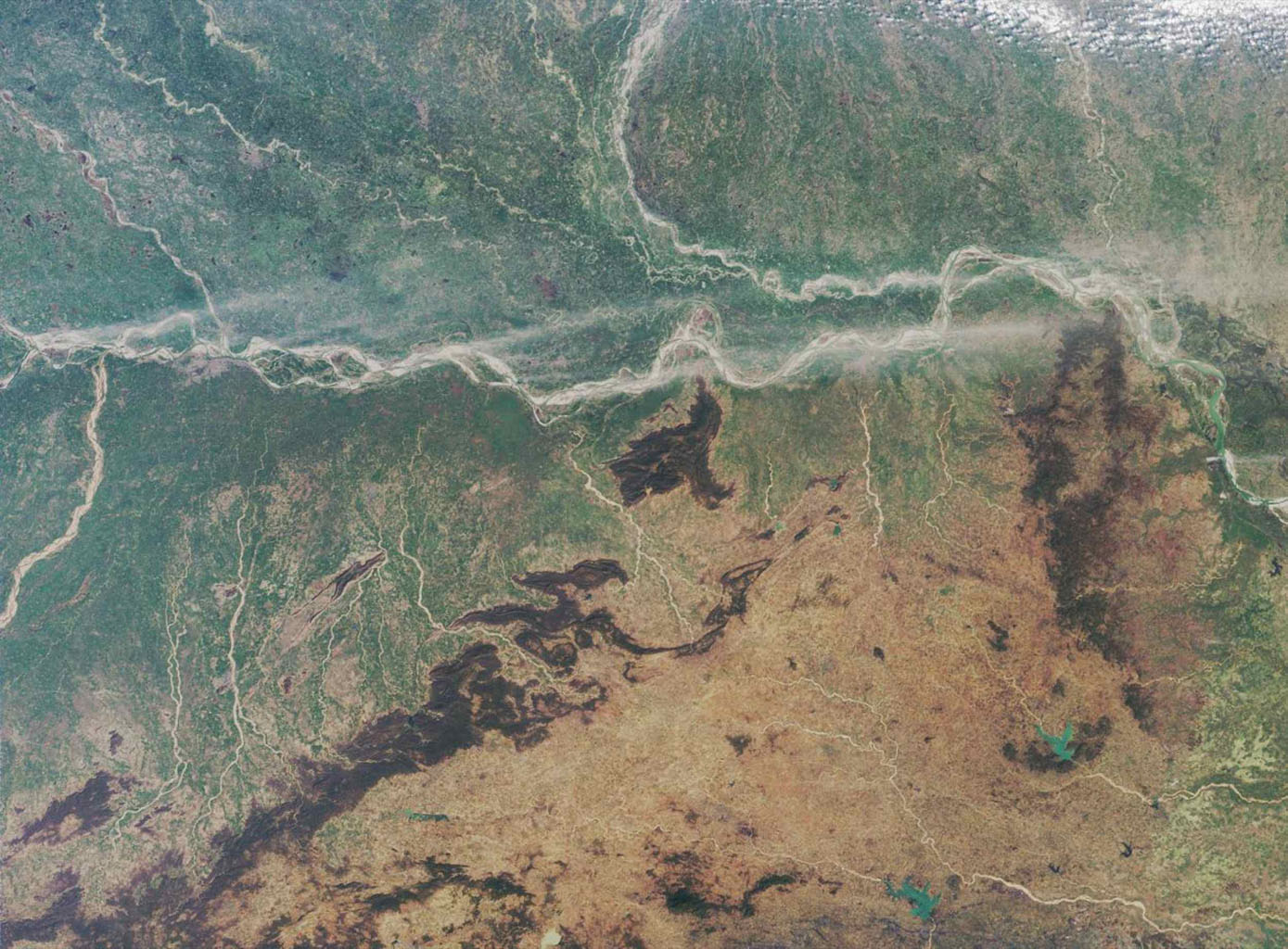The Ganges Plain is shown in this MISR Mystery Quiz #22 captured by NASA's Terra spacecraft.