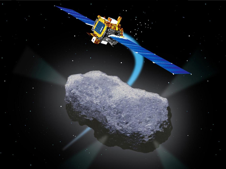 artist concept nasa comet - photo #2