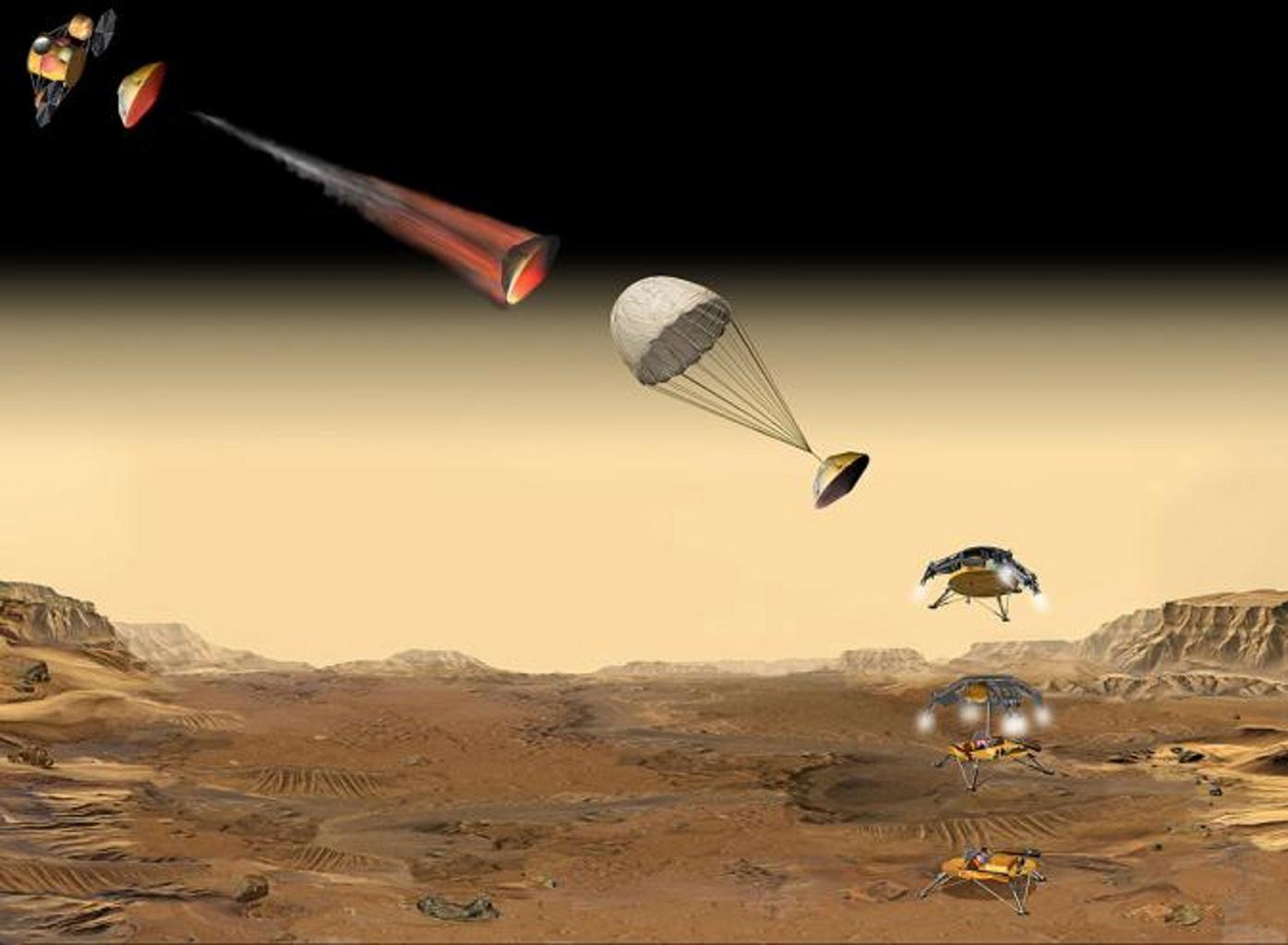 nasa spacecraft lands on mars - photo #30