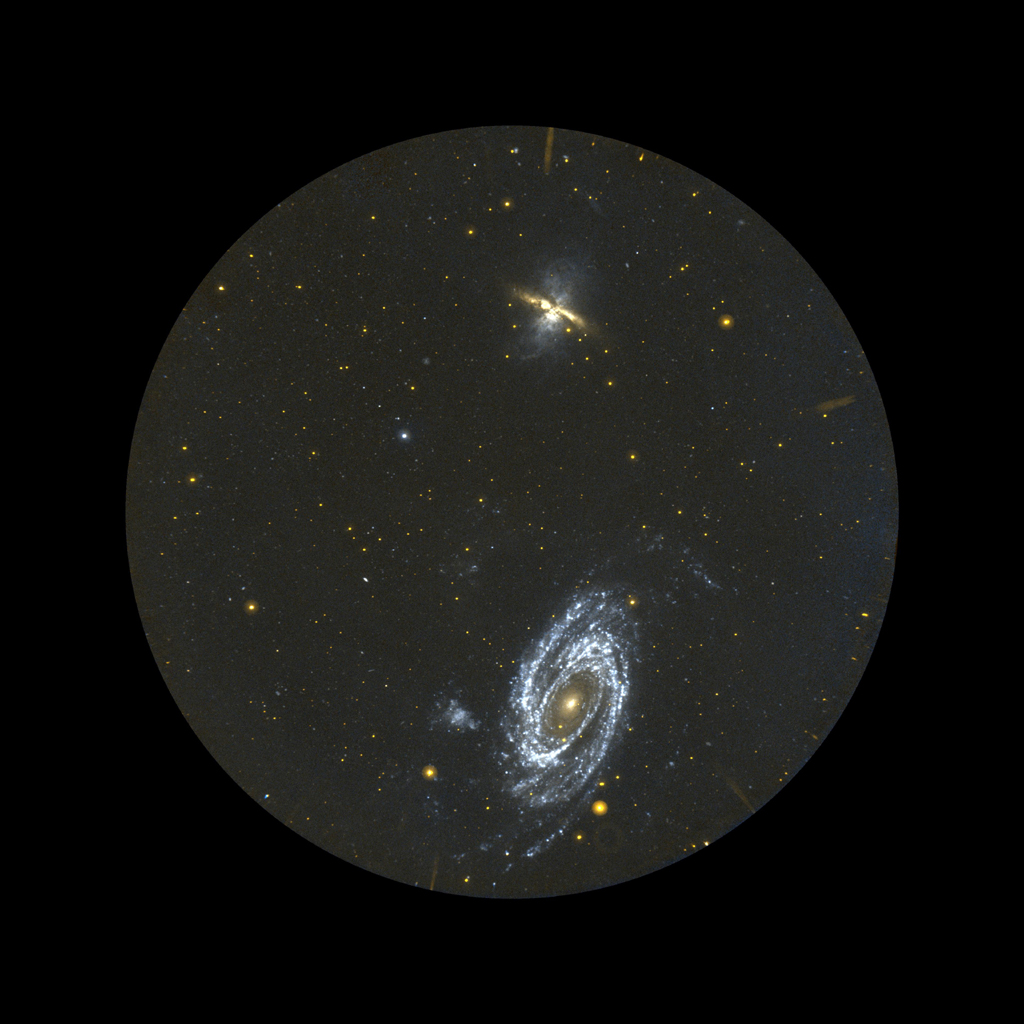 The Galaxy Evolution Explorer specializes in surveying galaxies in ultraviolet light. The telescope surveyed thousands of galaxies before finding three-dozen of these newborns.