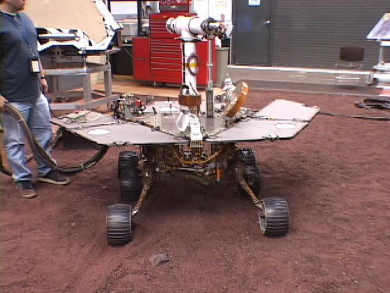 building jpl rover spirit - photo #44