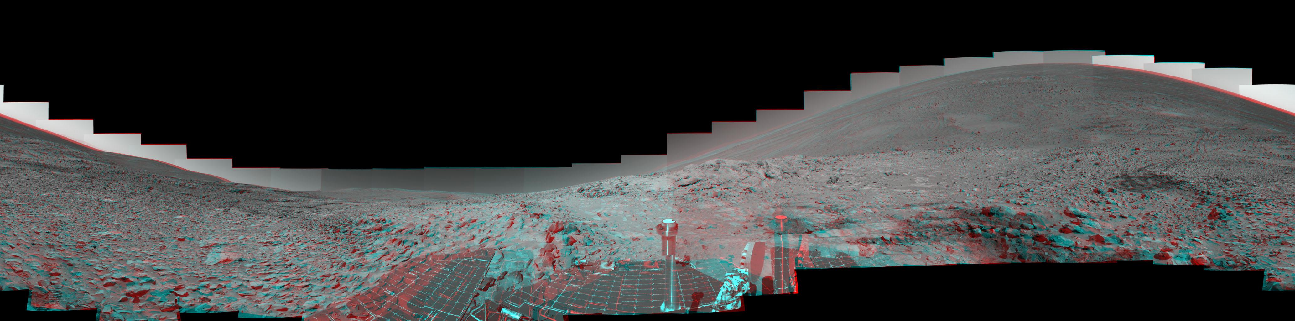 An unreal Mars skyline  Bad Astronomy