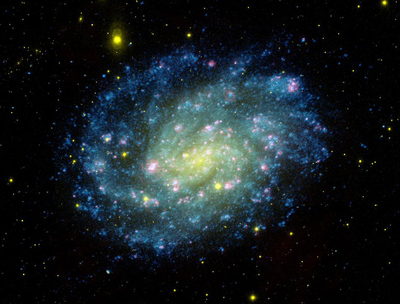 Space Images | Classic Galaxy with Glamour