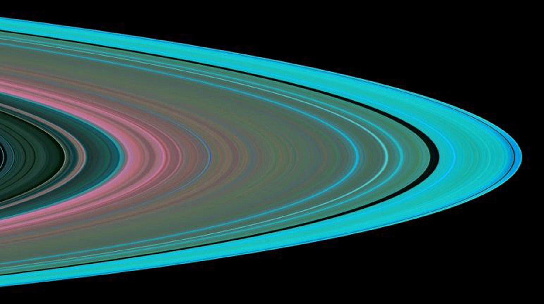 Specially designed Cassini orbits place Earth and Cassini on opposite sides of Saturn's rings, a geometry known as occultation. NASA's Cassini spacecraft conducted the first radio occultation observation of Saturn's rings on May 3, 2005.