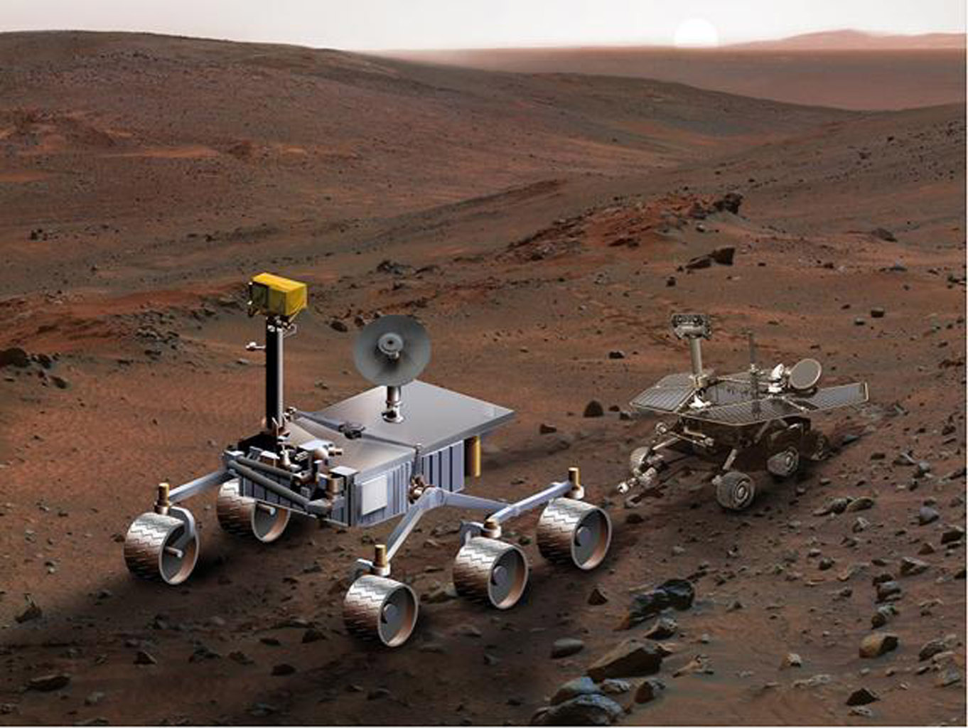 mars rover expeditions - photo #22