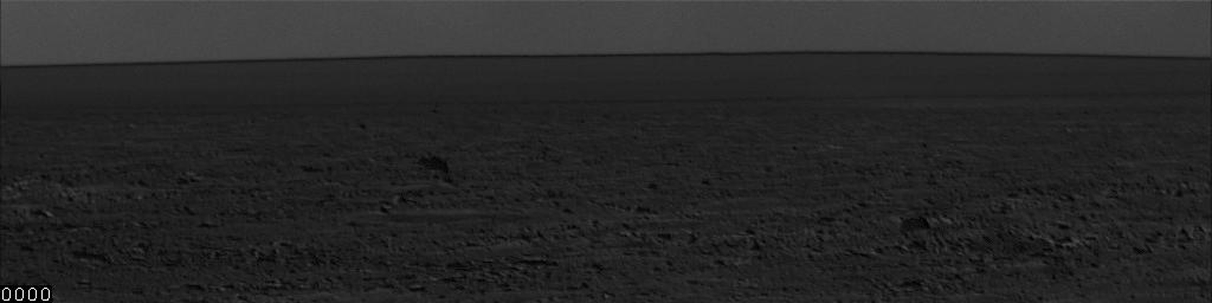 This frame from an animation shows the movement of several dust storms near NASA's Phoenix Mars Lander. These images were taken by the lander's Surface Stereo Imager (SSI) on the 137th Martian day, or sol, of the mission (Oct. 13, 2008).