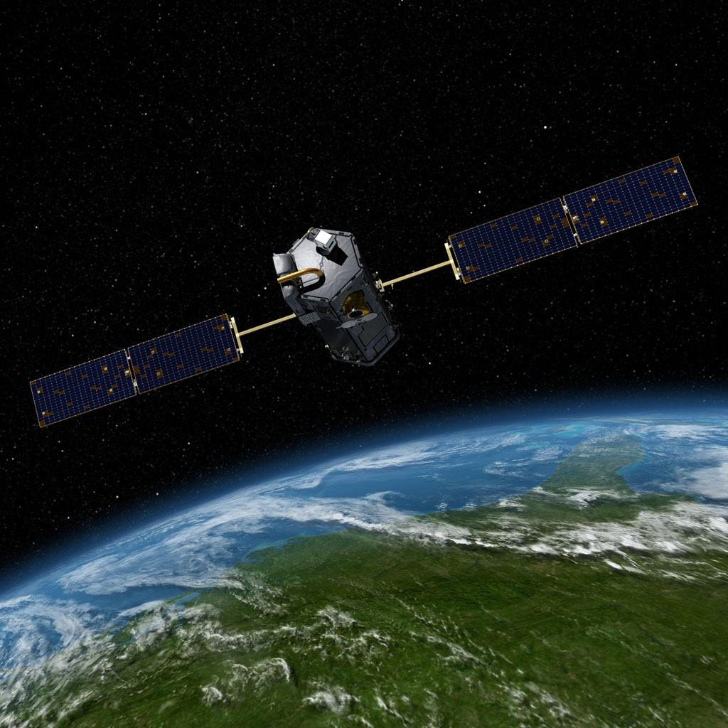 Orbiting Carbon Observatory (OCO-2)(Artist Concept)