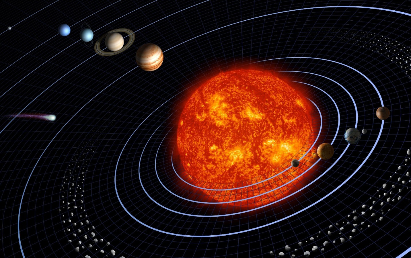 Space Images | Our Solar System Features Eight Planets