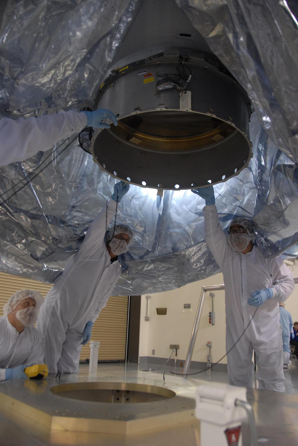 NASA's Wide-field Infrared Survey Explorer arrives at Vandenberg Air Force Base
