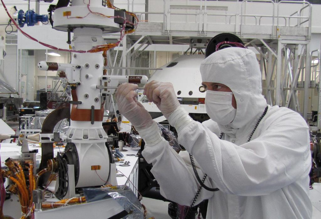 Space Images | Weather Sensors from Spain on Mars Rover ...