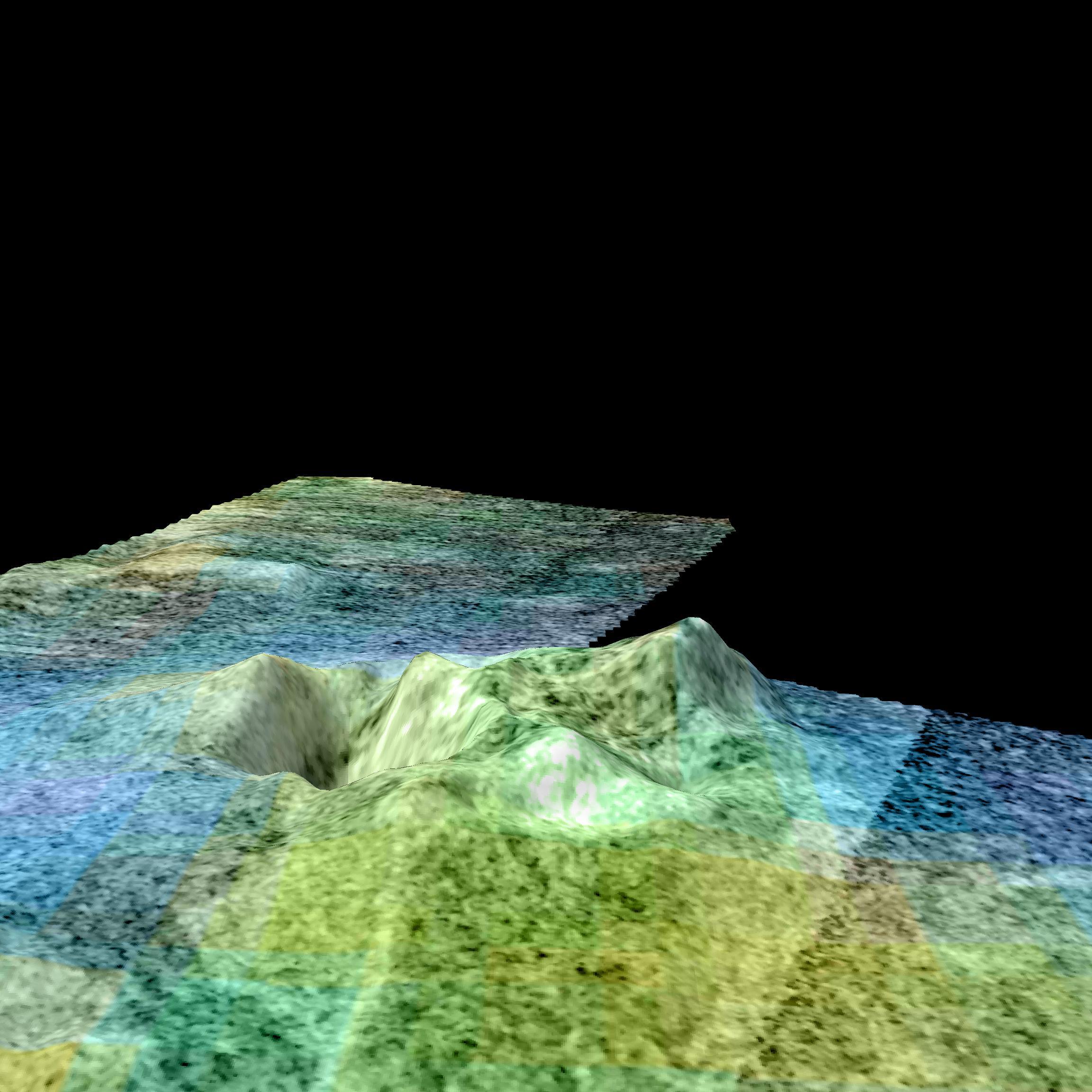 Space Images Flyover Of Sotra Facula Titan