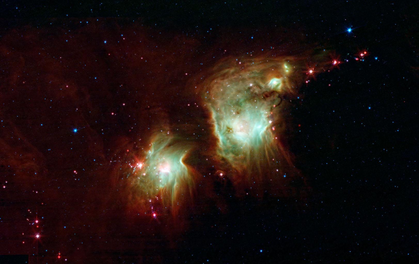 Space Images | Making a Spectacle of Star Formation in Orion