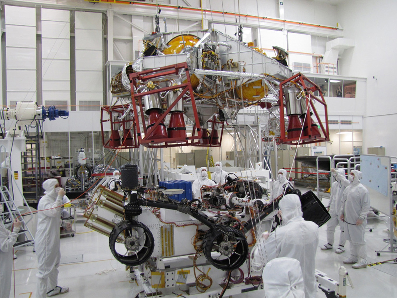 Land Rover Pasadena >> Space Images | Testing for Mars Science Laboratory Descent