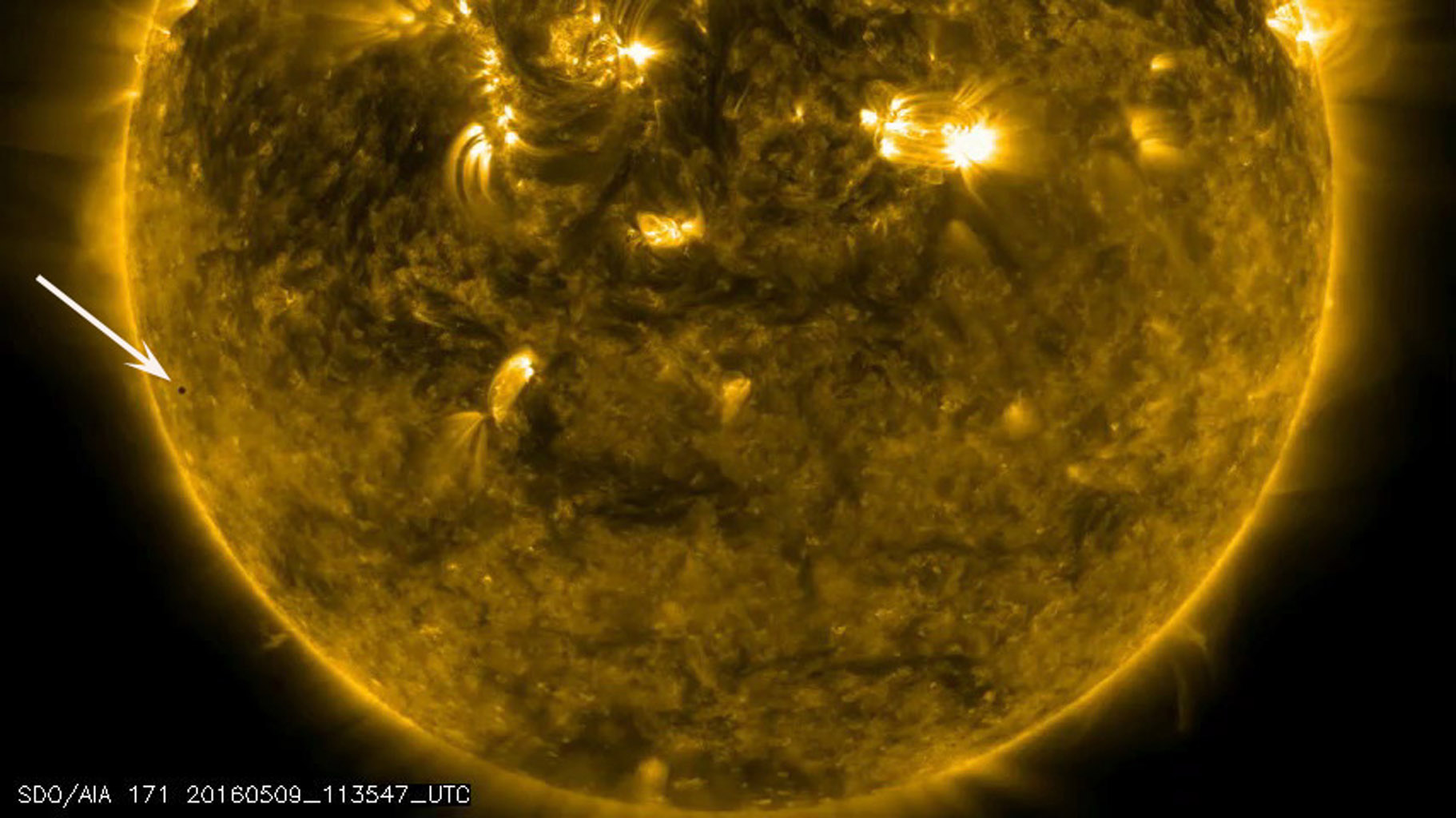 Space Images | Mercury Transit Across the Sun