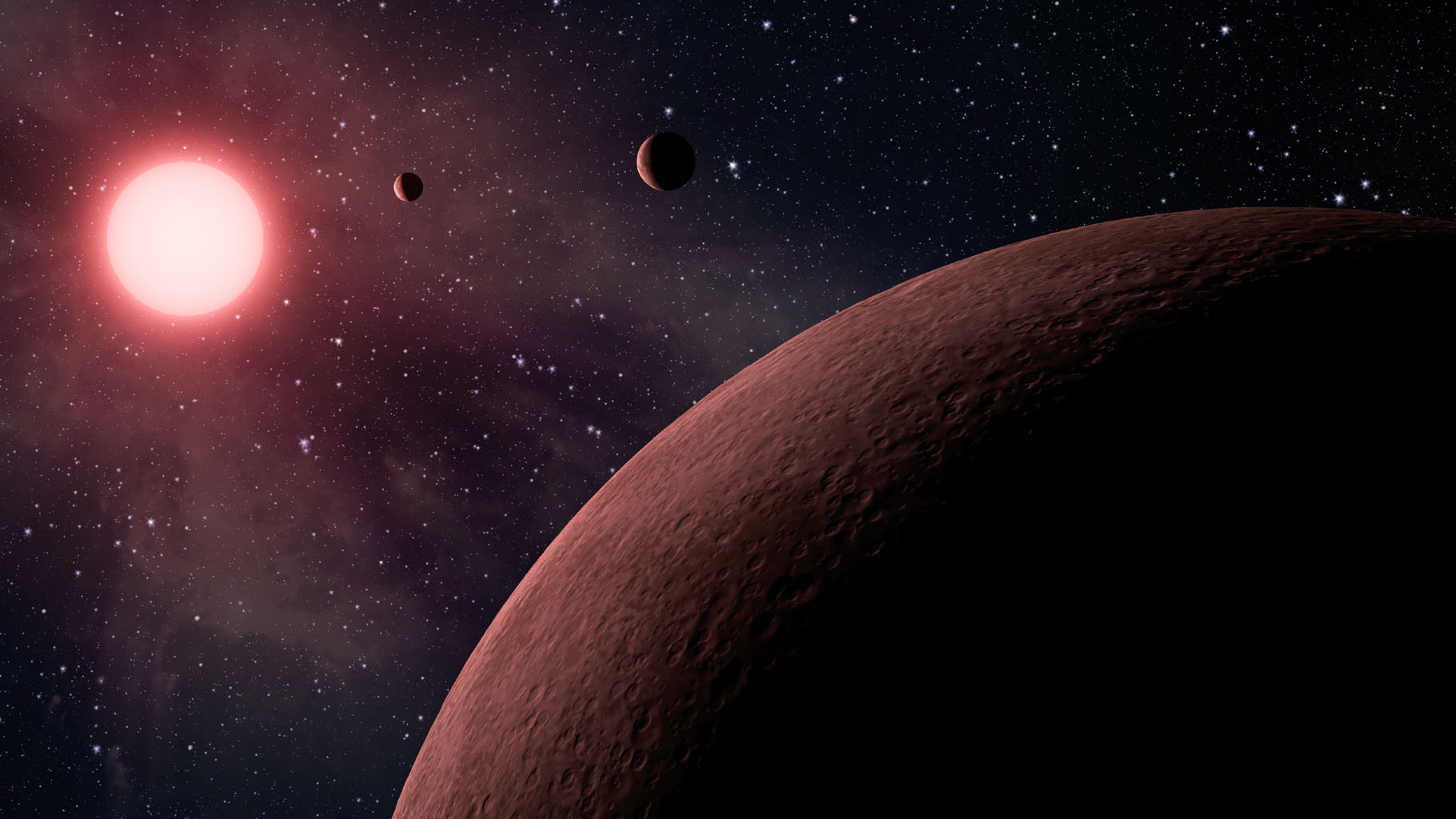 Space Images | Mini Planetary System -- Artist Concept