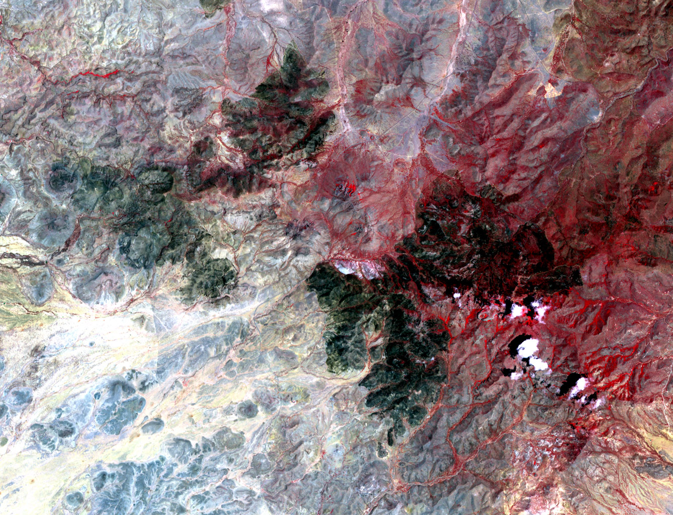 space images | nasa spacecraft images texas wildfire