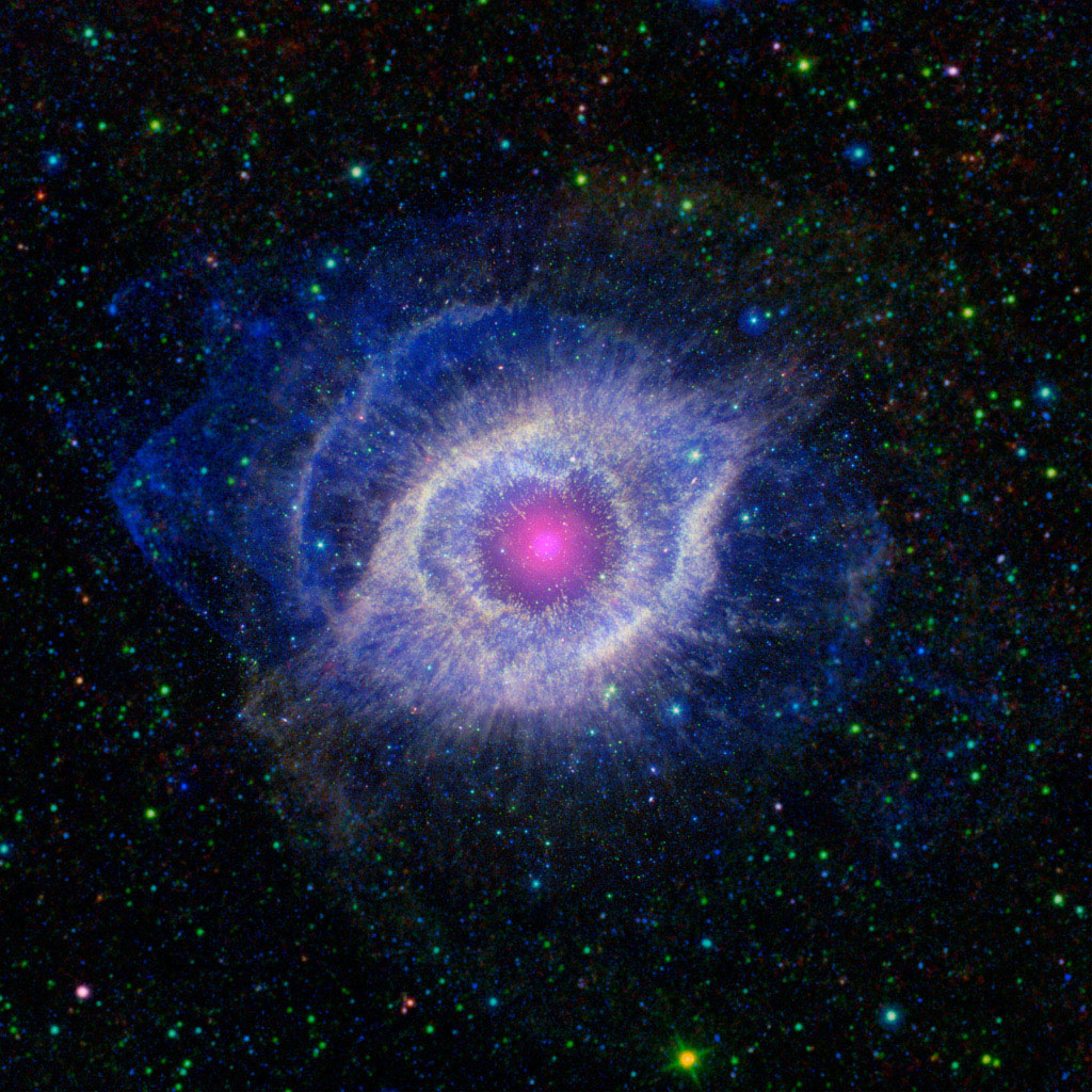 Space Images | The Helix Nebula: Unraveling at the Seams