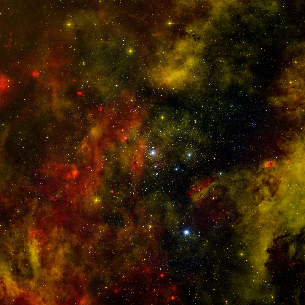 The Milky Way and other galaxies in the universe harbor many young star clusters and associations that each contain hundreds to thousands of hot, massive, young stars known as O and B stars.