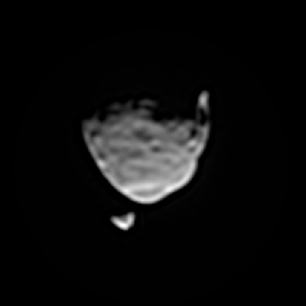 Space Images | Two Moons of Mars in One Enhanced View