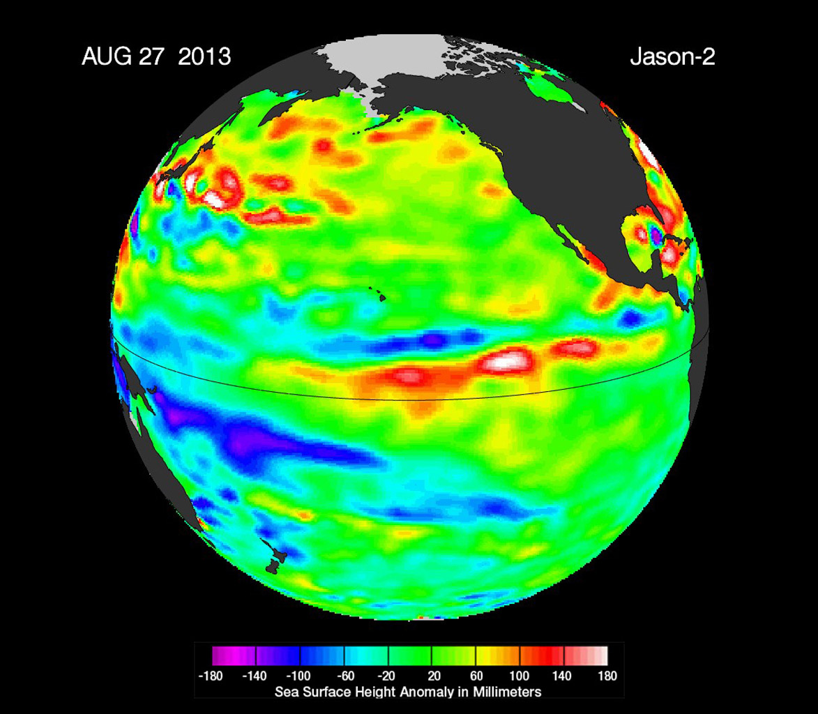 Space Images | \'La Nada\' Climate Pattern Lingers in the Pacific