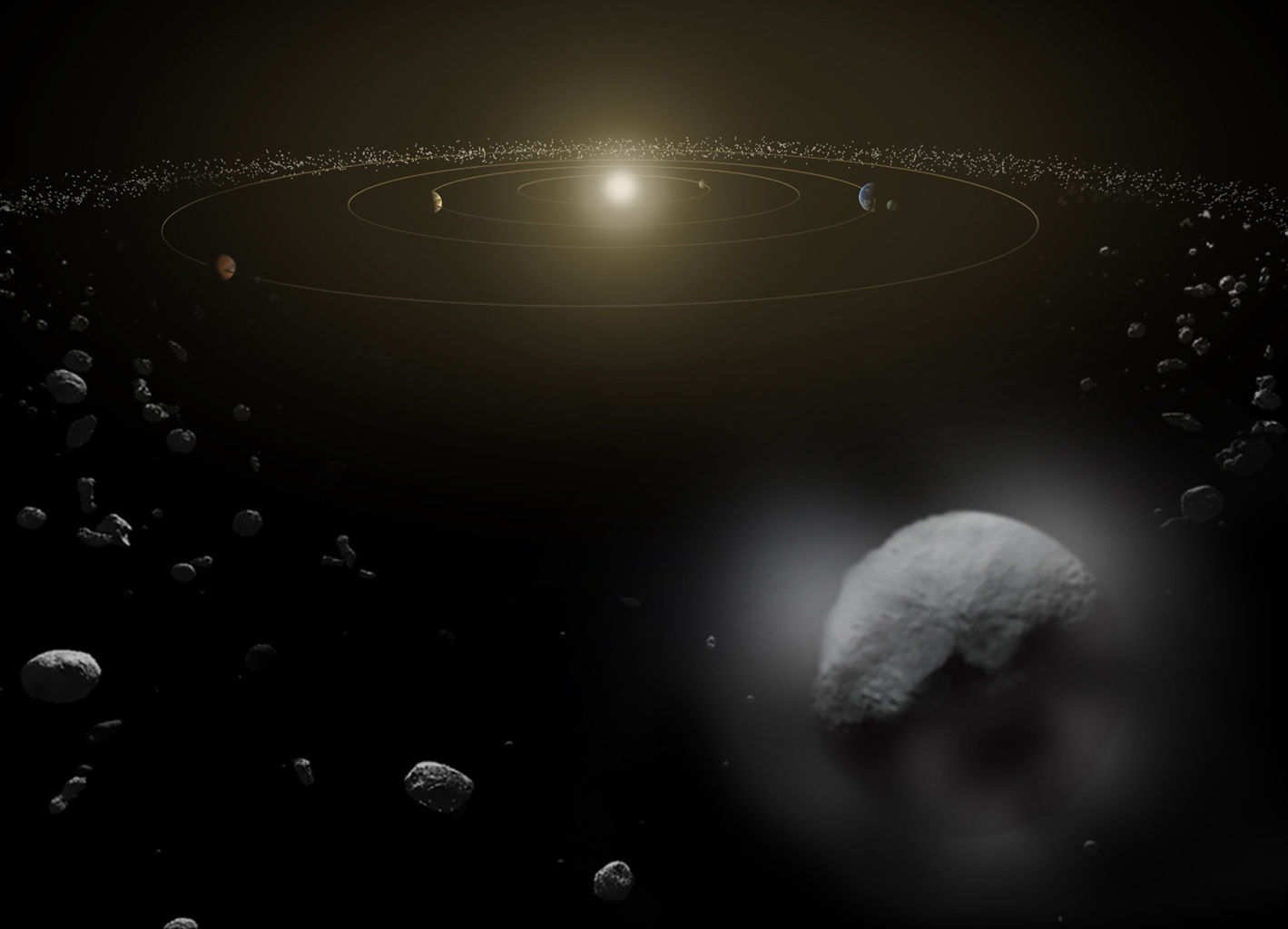 Dwarf Planets Questions including What planet is the