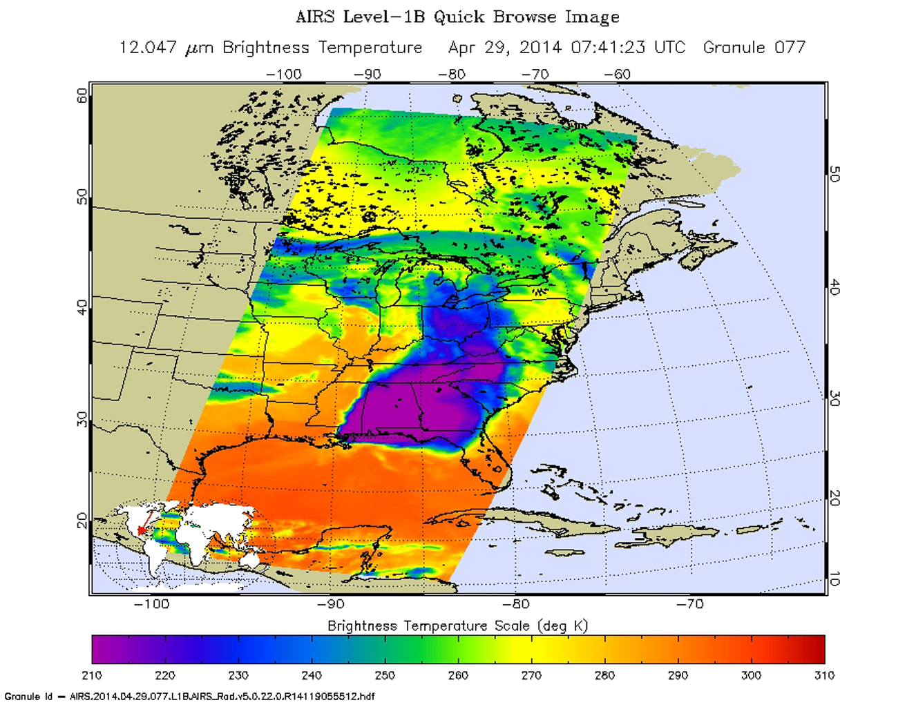 Space Images NASA Satellite Spots Severe Weather Outbreak In South - Us weather map lows