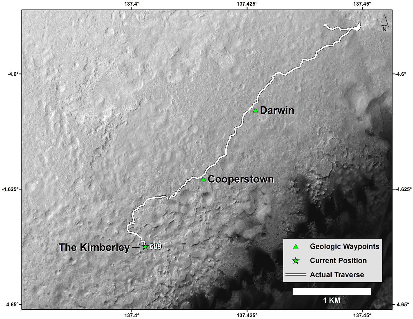 mars rover landing map - photo #16
