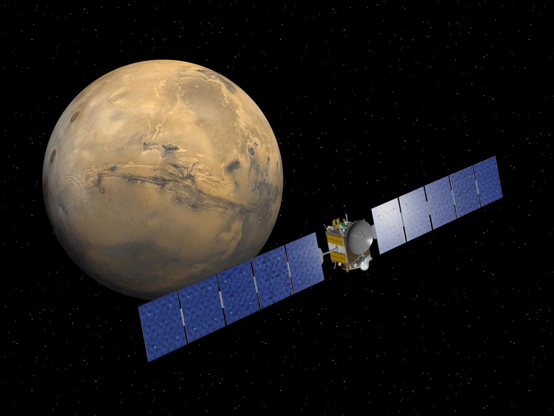 Artist Rendering Of NASA's Dawn Spacecraft