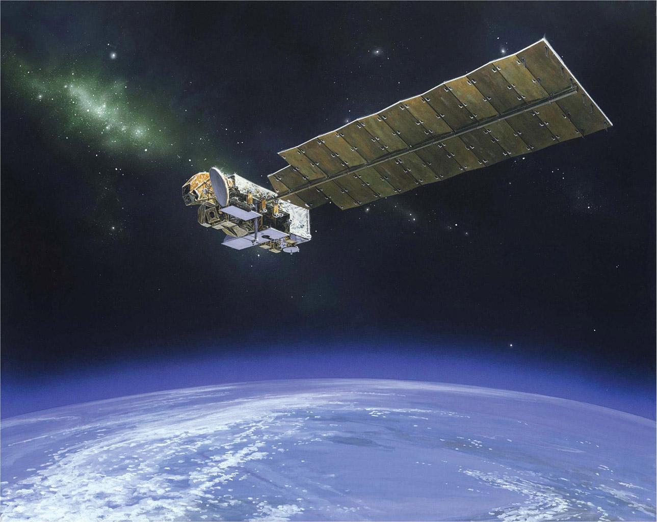 Space Images | NASA's Aura Spacecraft (Artist's Concept)