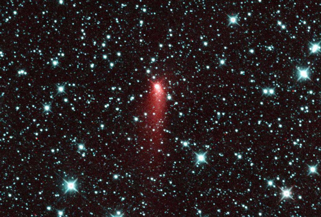 NASA's NEOWISE spotted Comet C/2013 UQ4 (Catalina), appearing to be a highly active comet one day past perihelion on July 7, 2014.