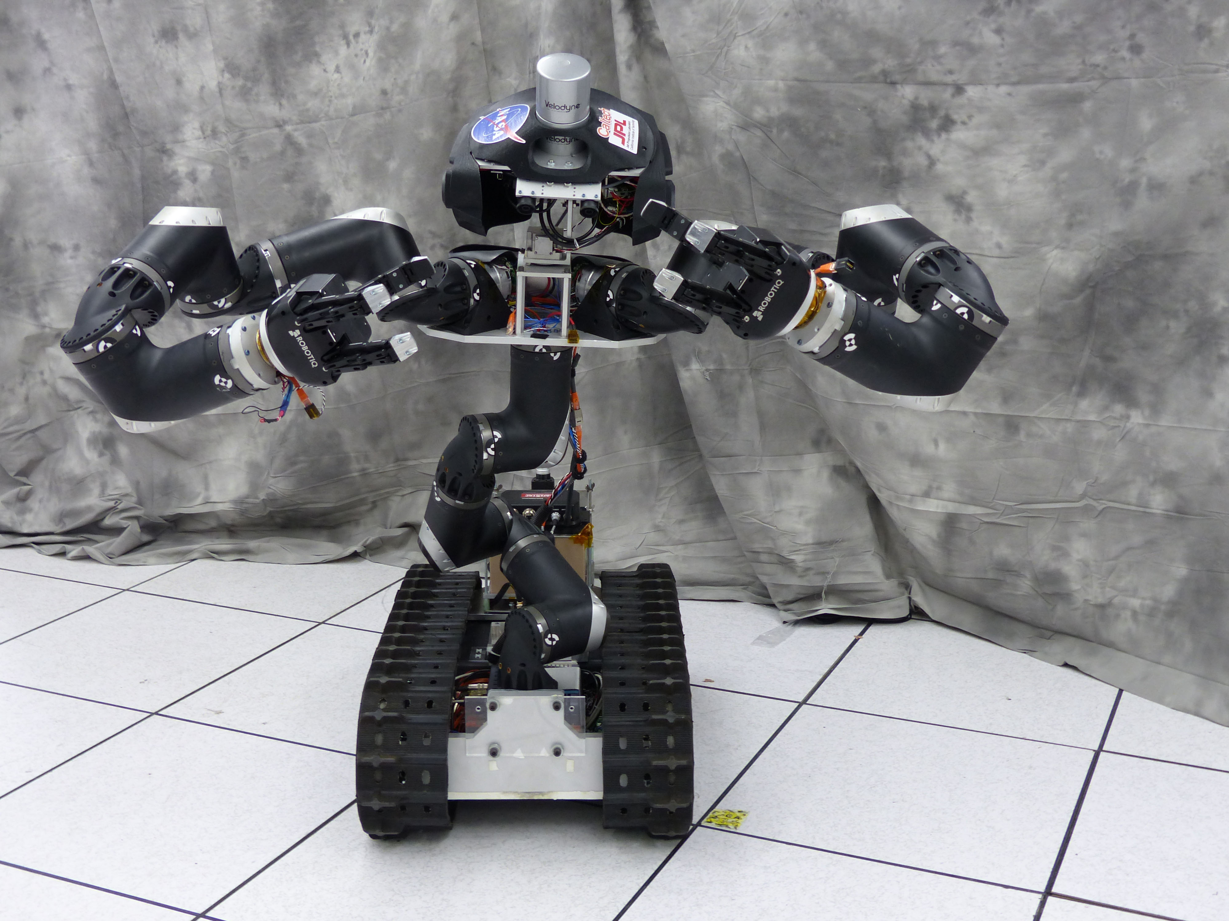 Surrogate, nicknamed 'Surge,' is a robot designed and built at NASA's Jet Propulsion Laboratory in Pasadena, California.