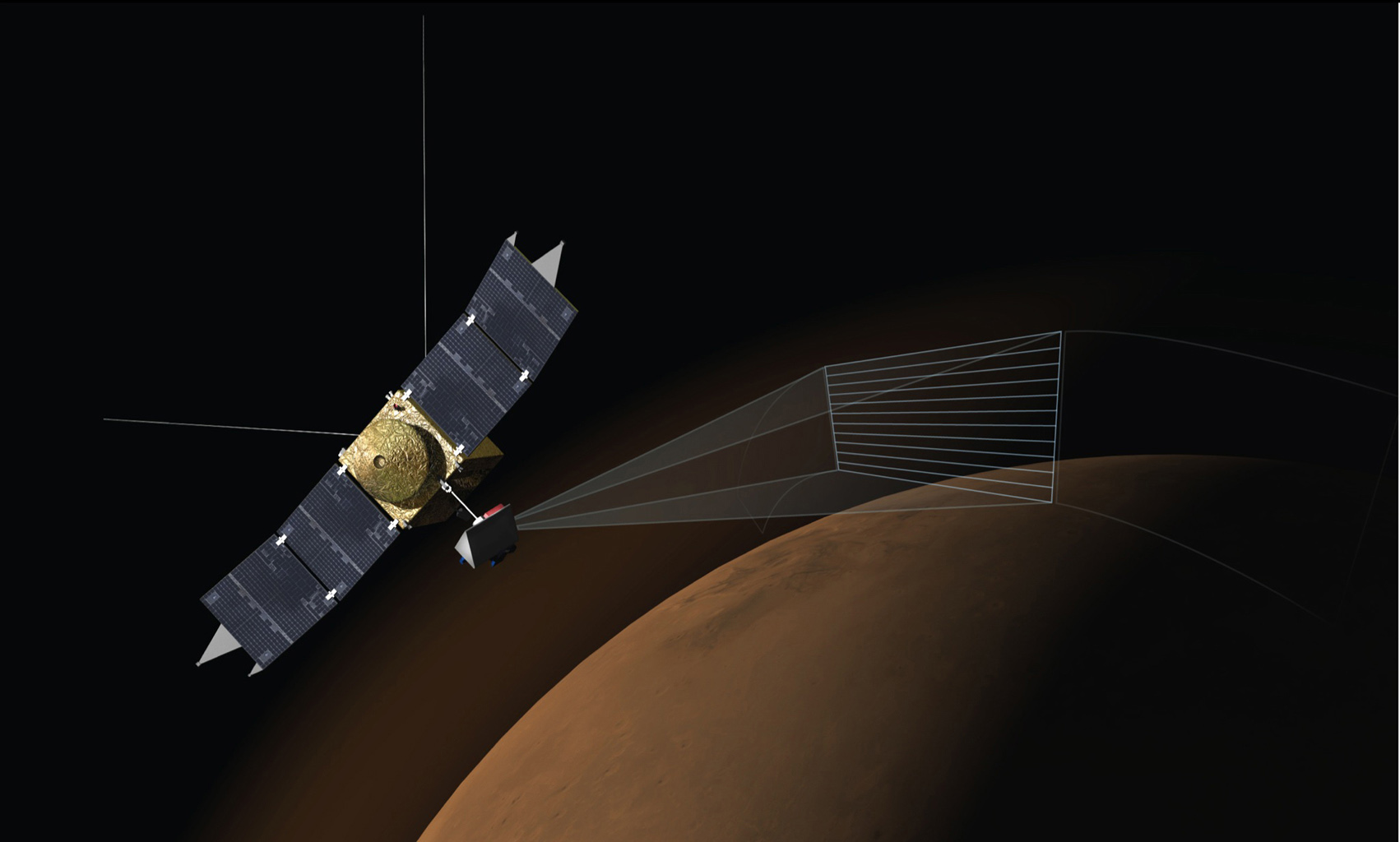 Space Images | Artist's Concept of MAVEN's Imaging ...