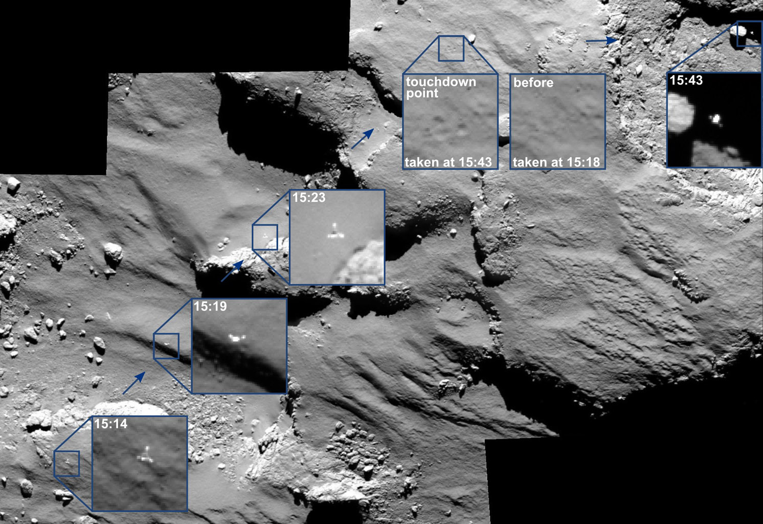 philae comet lander nasa - photo #29