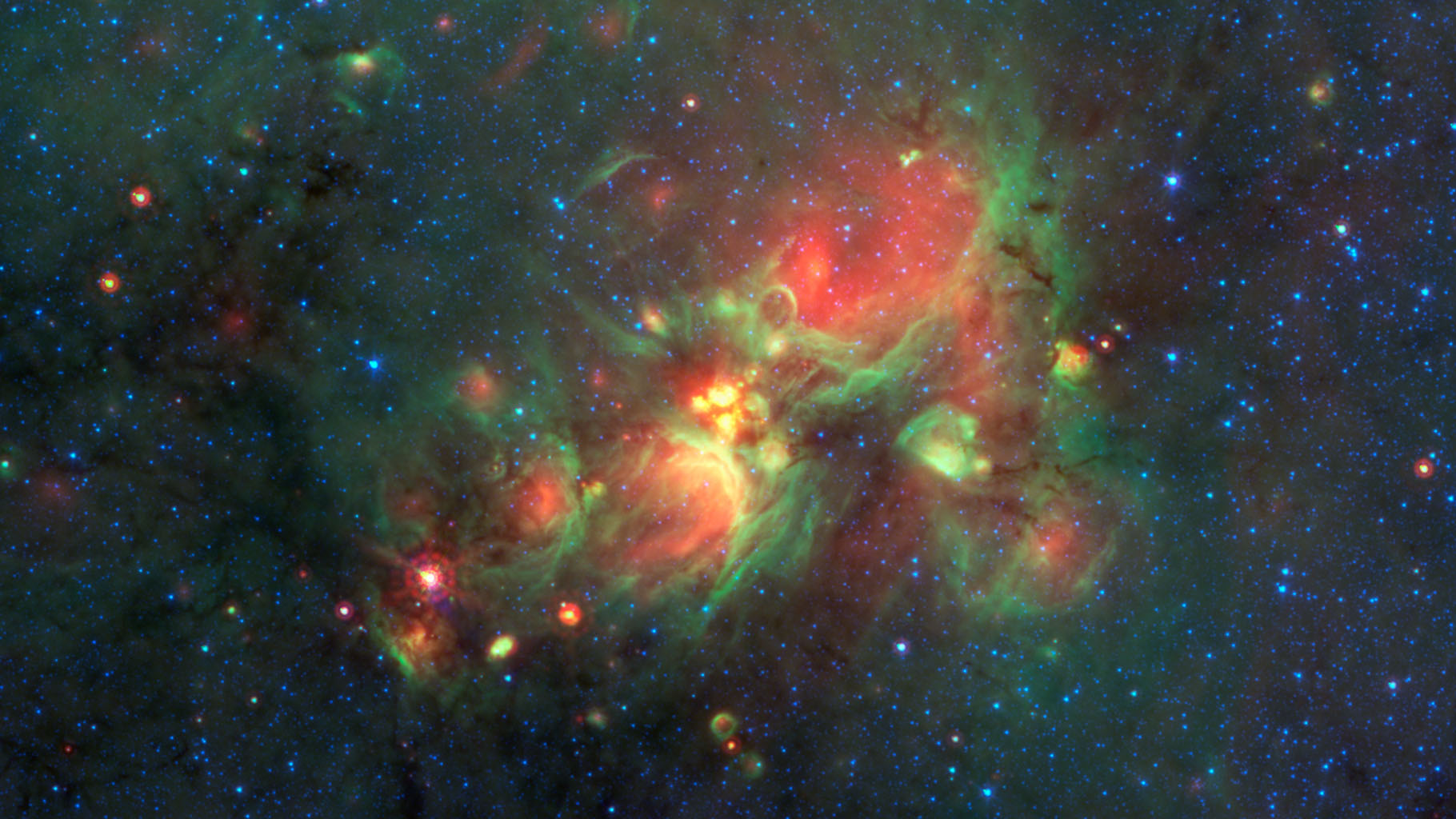 space galaxy formation - photo #36
