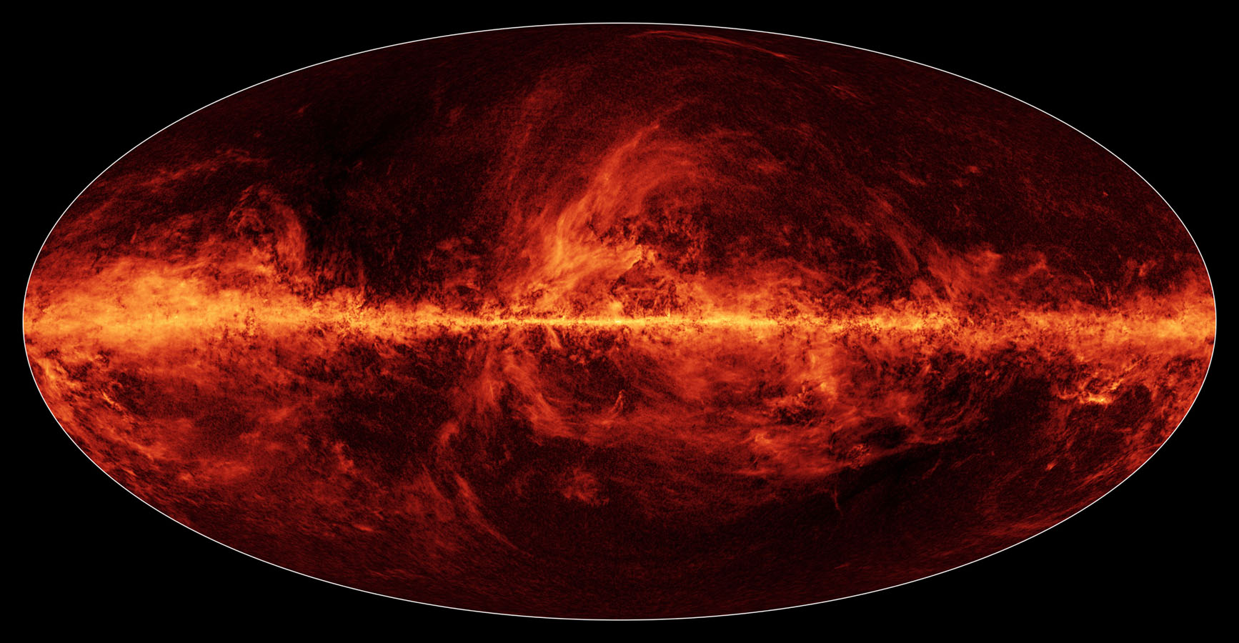 Space Images | Polarized Dust Lights Up Milky Way