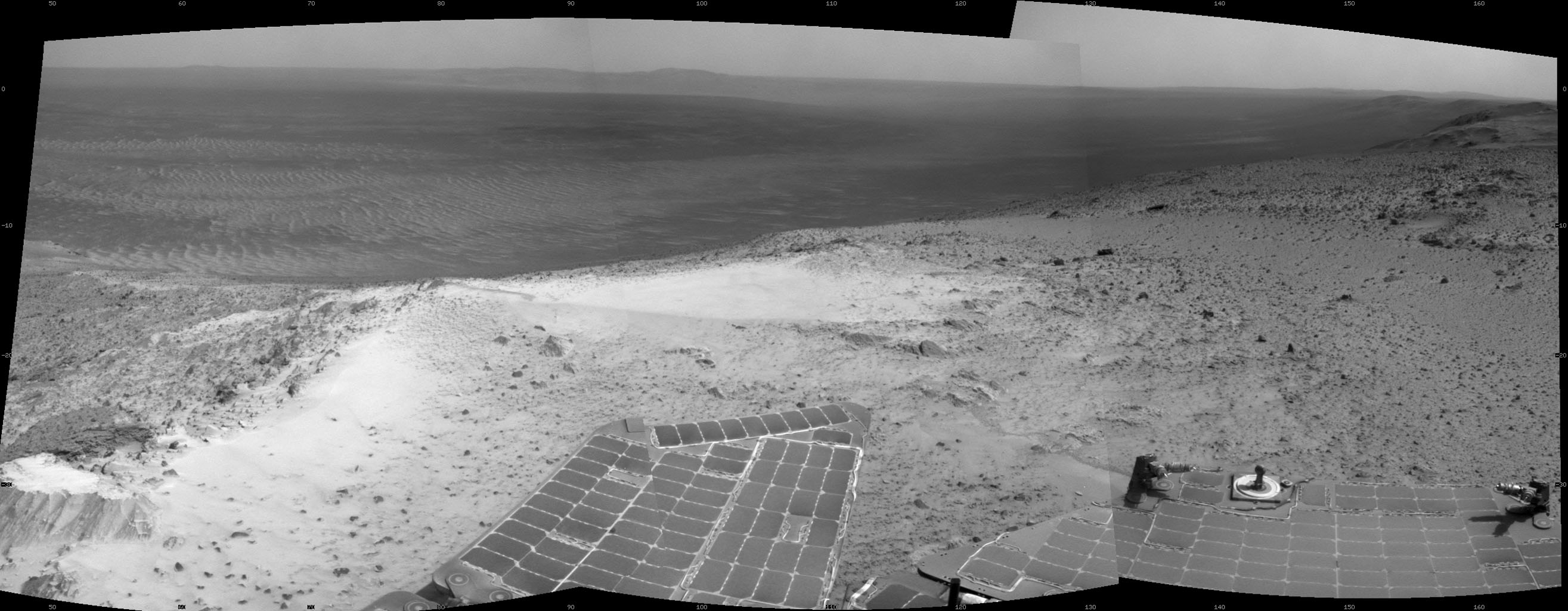 Martian Skies Clearing over Opportunity Rover  NASAs