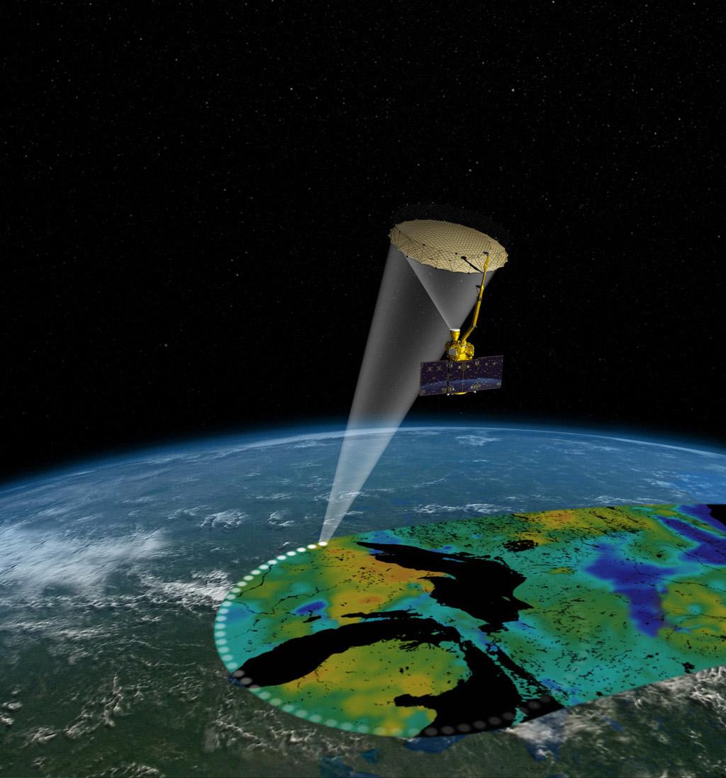 Space Images Soil Moisture Active Passive Satellite