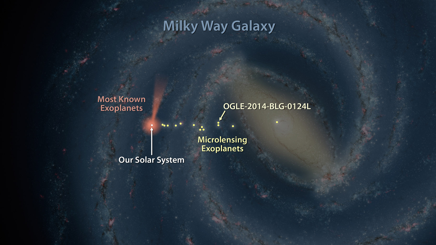 Space Images | Map of Exoplanets Found in Our Galaxy ...
