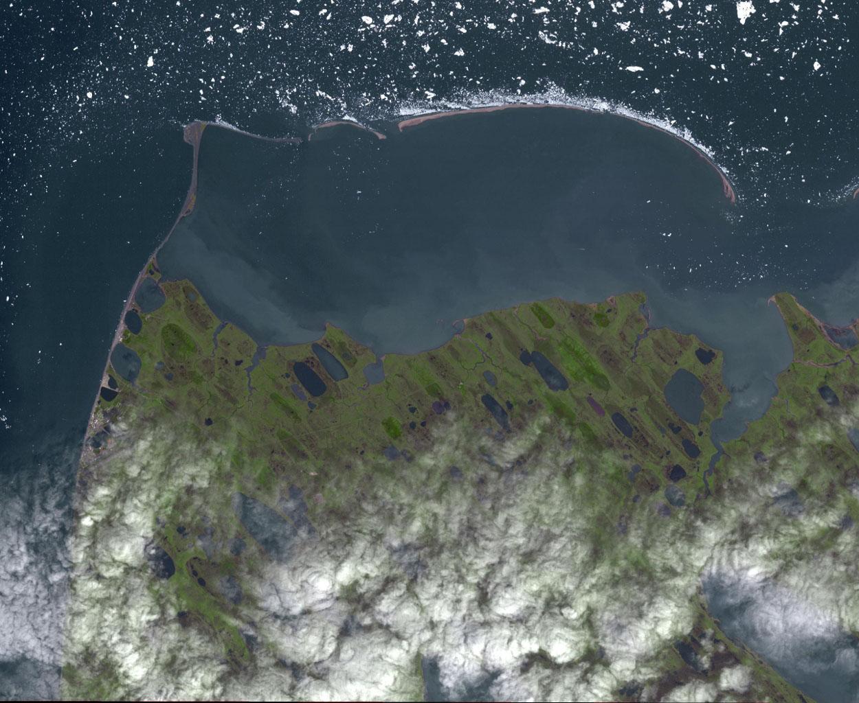 Space Images   Point Barrow, Alaska