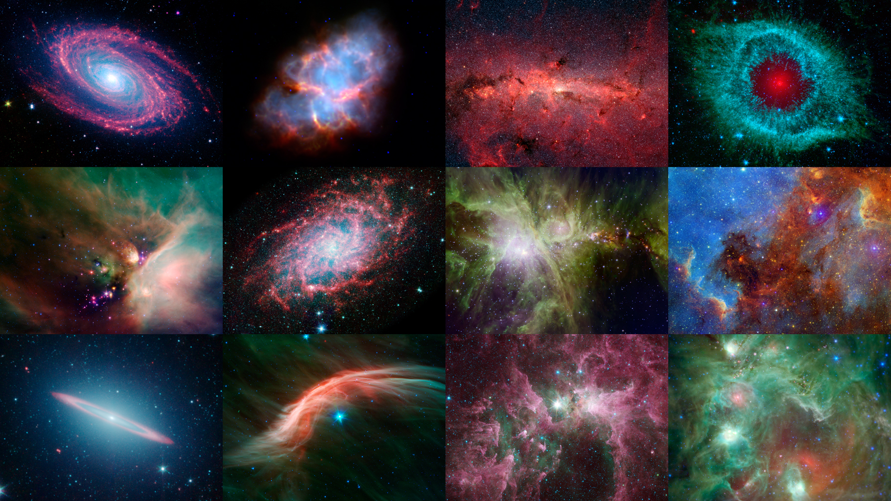 Space Images | NASA's Spitzer 12th Anniversary Space Calendar