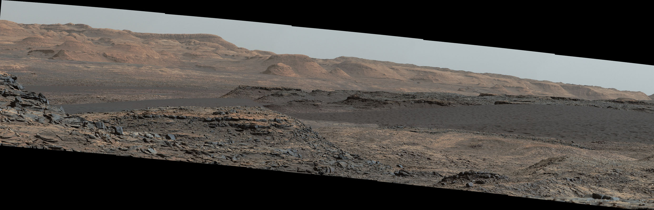 Space Images   Curiosity Rover Will Study Dunes on Route ...