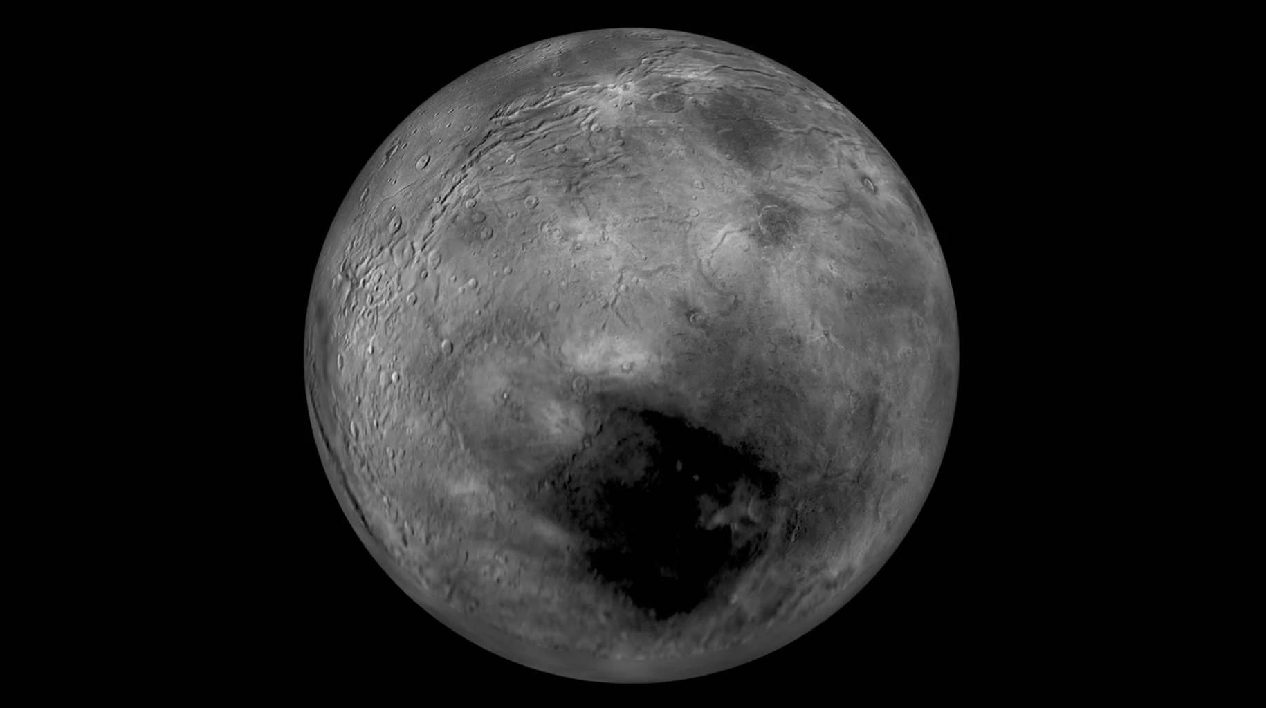 Charon Moon: Flying Over Charon