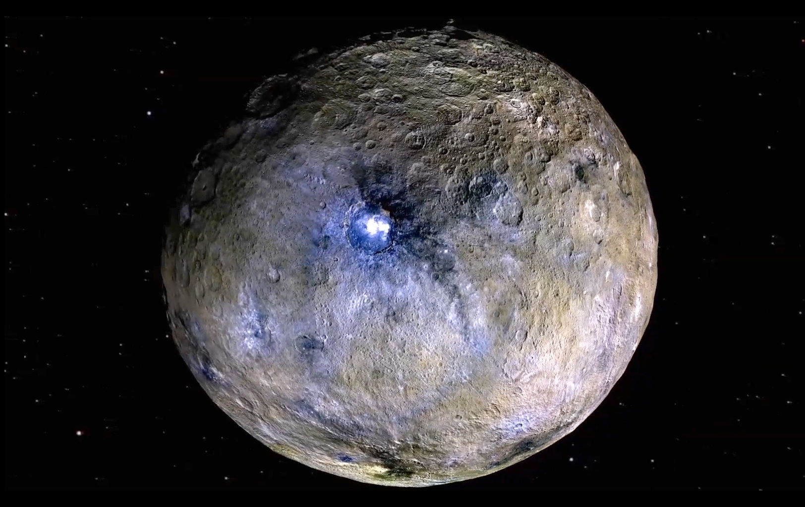 Space Images | Ceres Rotation and Occator Crater (Video)