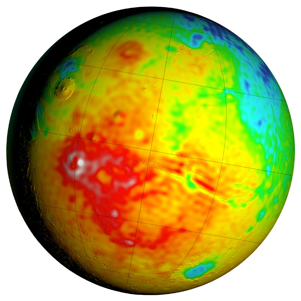 planet mars core crust mantel - photo #18