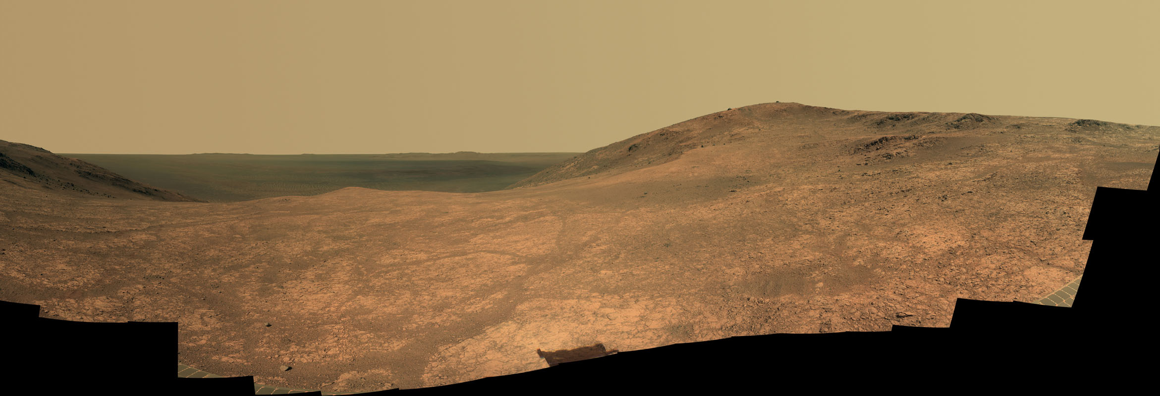 Space Images Mars Rover Opportunity S Panorama Of