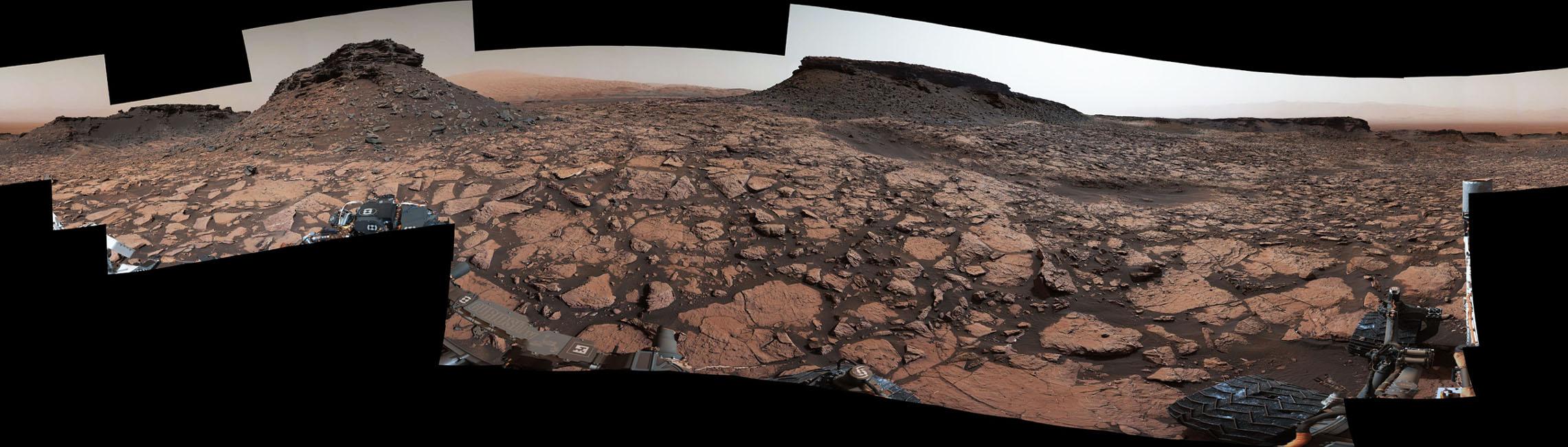 mars surface curiosity panorama - photo #40