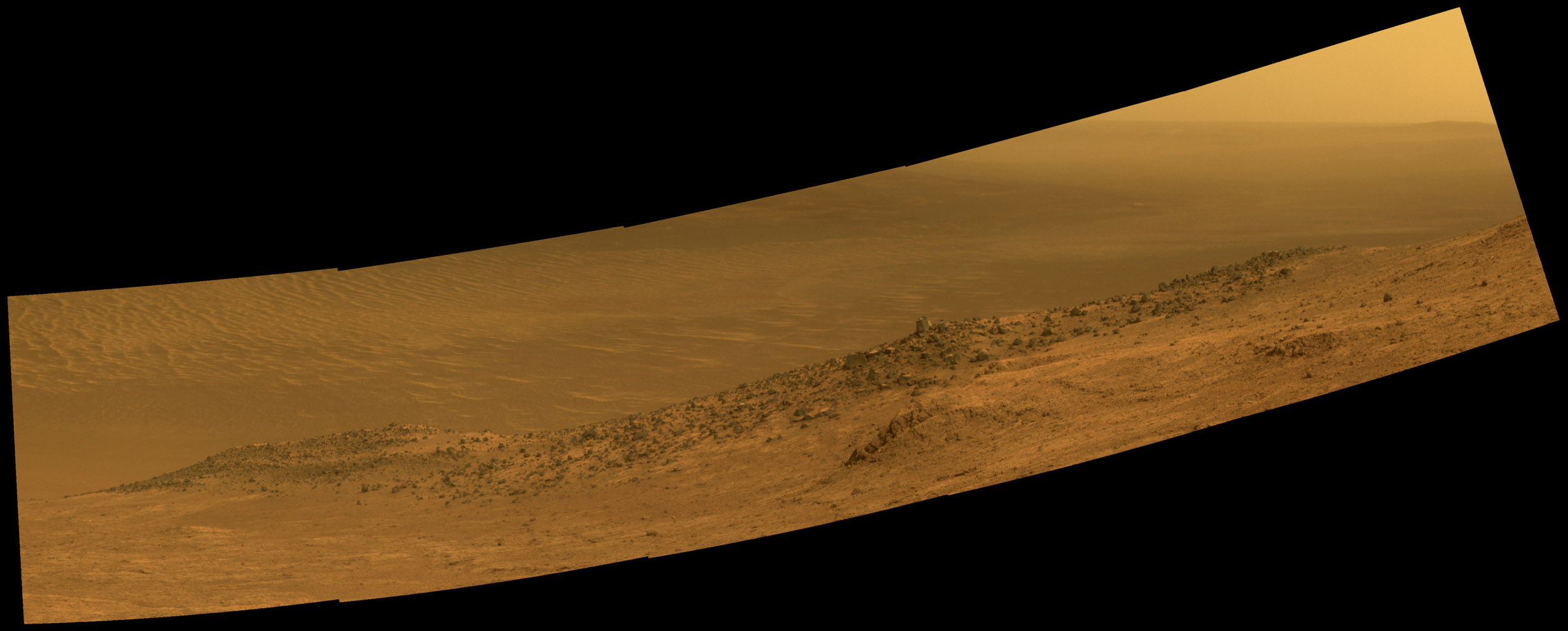 Space Images | Mars Rover Opportunity's Panorama of ...
