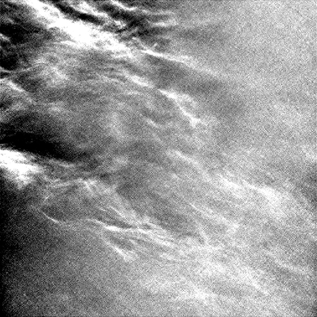 Wispy clouds float across the Martian sky in this frame from an accelerated sequence of enhanced images taken on July 17, 2017, by the Navcam on NASA's Curiosity Mars rover.