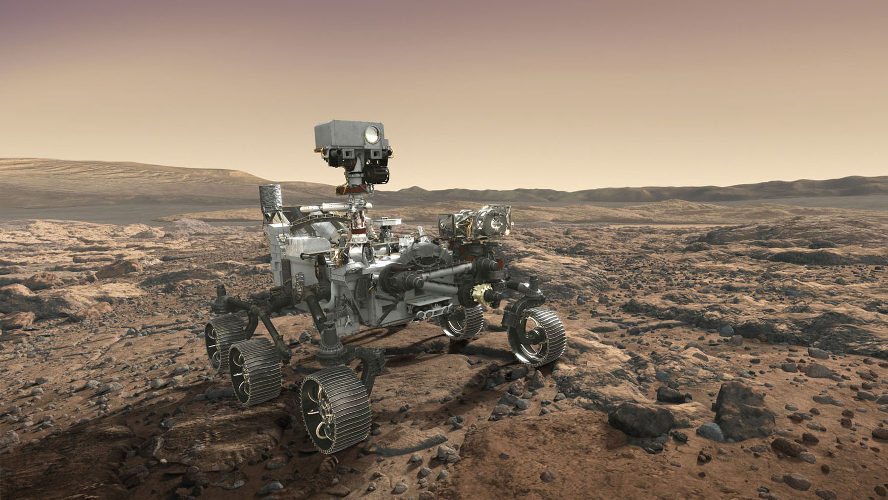 Space Images | NASA's Mars 2020 Rover Artist's Concept #7